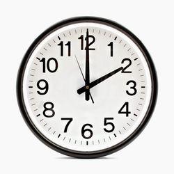 relógio - mudança hora