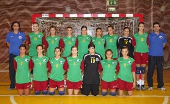Selecção Nacional Junior B Feminina 2008/09