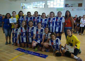 CS Madeira - campeão nacional Infantis Femininos 2013-14