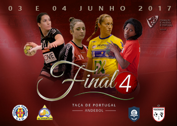 Cartaz Final4 Taça de Portugal Seniores Femininos
