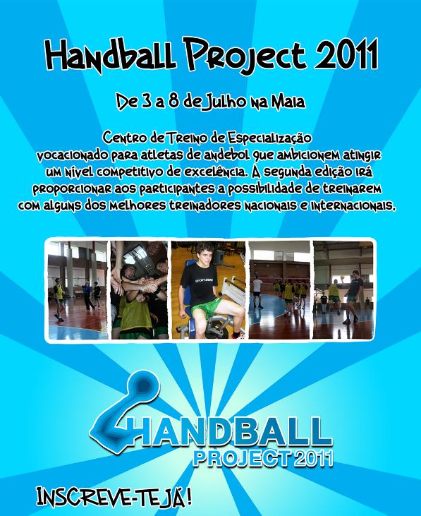 Flyer Handball Project 2011