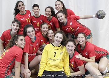 1º Torneio das Descobertas - Solucar x Seleção Sub-16 Feminina - 1ª Jornada - Foto: Luís Neves