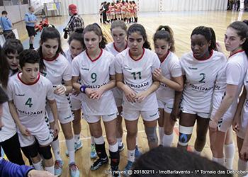 I Torneio das Descobertas - Seleção Nacional Sub-16 x Almeida Garrett - 2ª Jornada