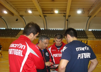 Treino da seleção Sen (M) - Braga - 09.06.2013
