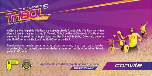 8º Torneio Tribol de Praia Cidade de Vila Real / Intermarché - convite