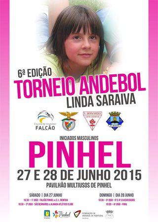 Cartaz 6ª Edição do Torneio Linda Saraiva