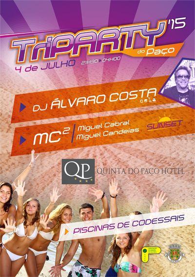 8º Torneio Tribol de Praia Cidade de Vila Real / Intermarché - Cartaz TriParty