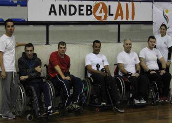Andebol em Cadeira de Rodas - Dia Paralímpico 2013