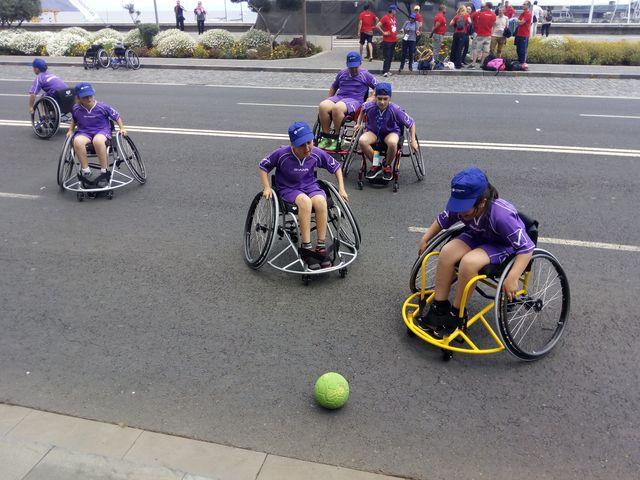 Andebol em Cadeira de Rodas - Dia Paralímpico no Funchal
