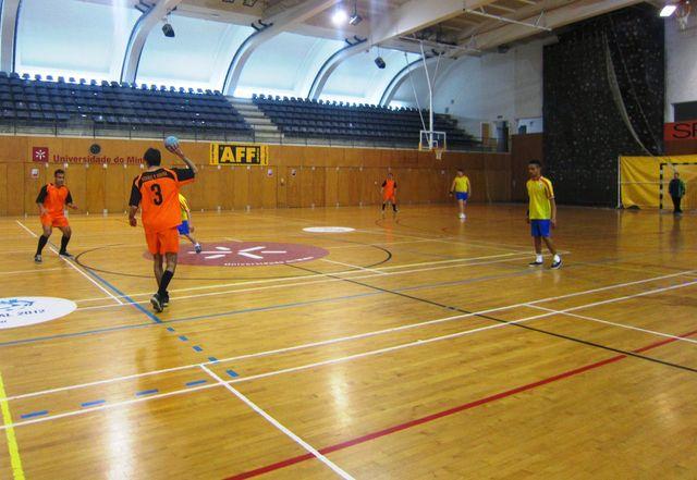3ª Jornada do Campeonato Regional Adaptado de Andebol 5 - U. Minho, 28.03.14