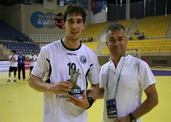 Belmiro Alves - MVP no jogo POR-POL - Europeu Sub-20 - Turquia 2012