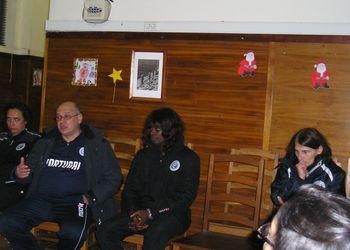 Sandra Fernandes, João Florêncio, Juliana Sousa e Ana Seabra no debate sobre o Andebol feminino no Kakygaia 2012