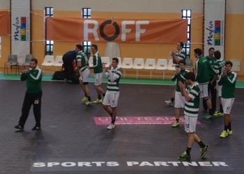 Sporting CP vence Skjern - EHF Cup 2014- 1