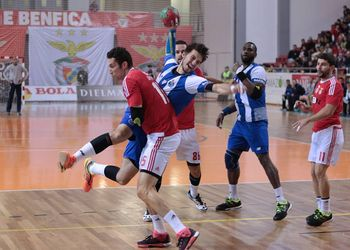SL Benfica : FC Porto - Campeonato Fidelidade Andebol 1 - foto: Ricardo Rosado