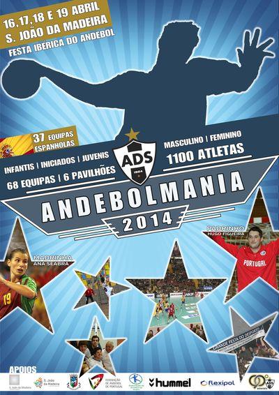 Cartaz XIII Torneio Internacional – Cidade de São João da Madeira - Andebolmania