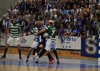 FC Porto - Sporting CP - Campeonato Andebol 1 - foto: António Oliveira