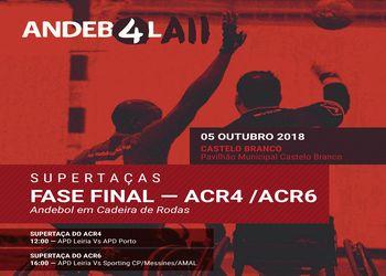Supertaças de Andebol de ACR4 e ACR6 2018-2019