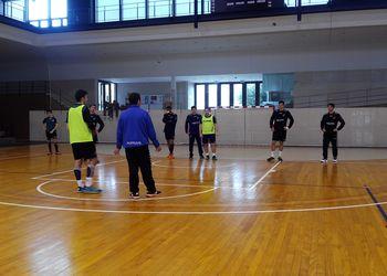 Juniores A Masculinos - treino em Fafe