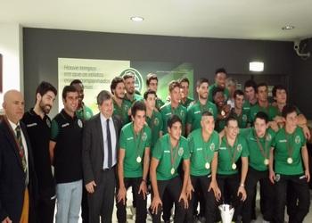 Sporting CP - campeão nacional juniores 2014-15