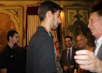 ABC recebe troféu Campeão Nacional Juvenis 4 - 2014-2015