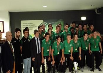 Sporting CP 1- campeão nacional juniores 2014-15