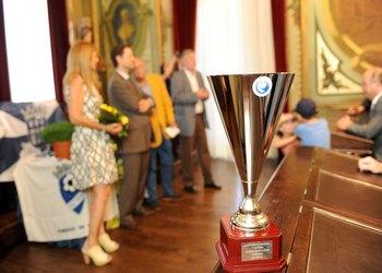 ABC recebe troféu Campeão Nacional Juvenis 2 - 2014-2015