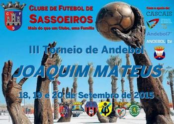 3.º Torneio de Andebol Joaquim Mateus - 2015