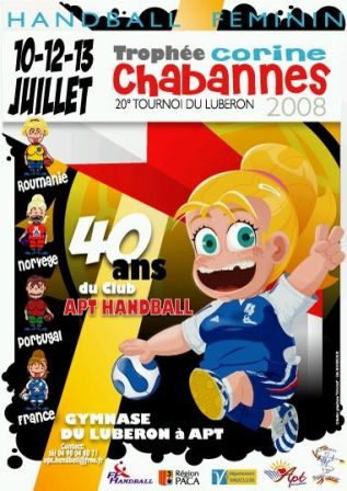 Cartaz Troféu Corinne Chabannes