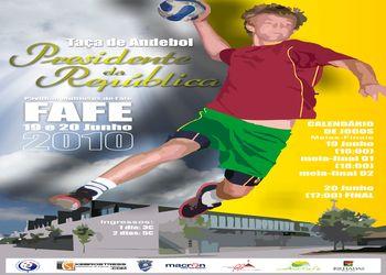 Cartaz Taça Presidente da República - Fafe. 19 e 20 de Junho de 2010