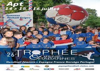 Cartaz Torneio Internacional Corinne Chabanne - França