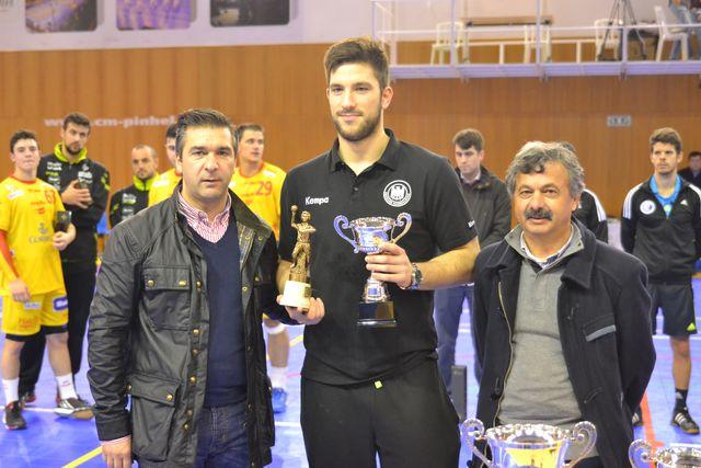 Presidente da Câmara Municipal da Mêda, Anselmo Sousa e Rui Ventura - Entrega de prémios à Alemanha - Torneio 4 Nações