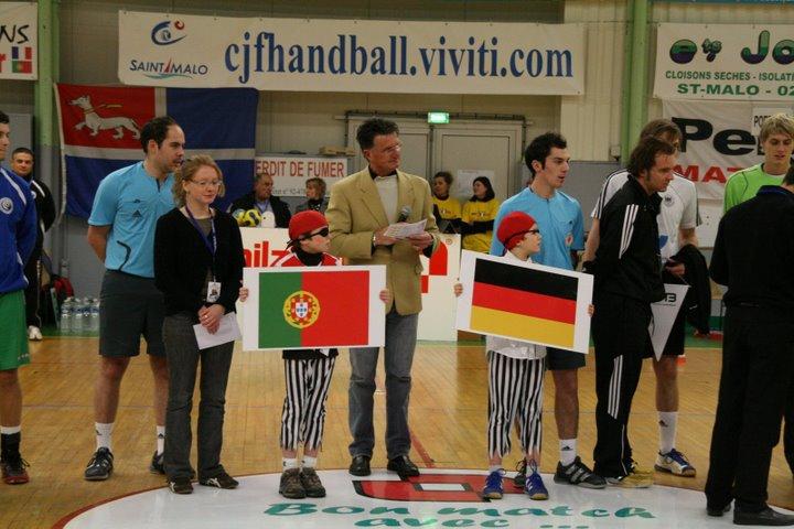 Alemanha : Portugal - Torneio 4 Nações 4