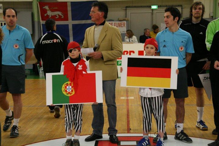 Alemanha : Portugal - Torneio 4 Nações 6