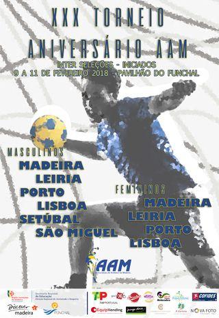 Cartaz XXX Torneio Aniversário AAM