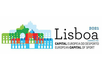 Logótipo - Lisboa - Capital Europeia do Desporto 2021
