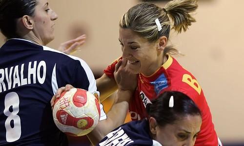 Espanha : Portugal - Campeonato da Europa Seniores Femininos Macedónia 2008