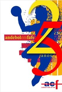 Cartaz 25 Anos de Andebol em Fafe