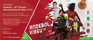 Cartaz Workshop - Andebol - 20º Torneio Internacional de Viseu 2018