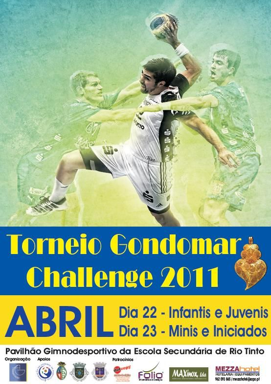 Cartaz Torneio Gondomar Challenge 2011