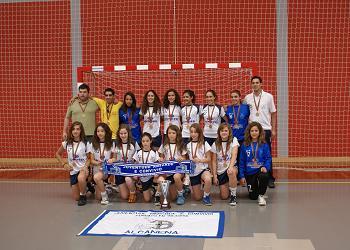 JAC-Alcanena - Campeão Nacional de Infantis Femininos 2009-10