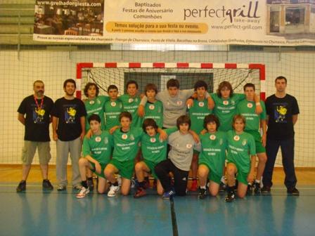 AA Porto - vencedor Torneio Nacional de Selecções Regionais de Infantis Masculinos