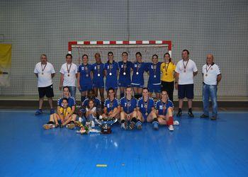 Madeira Andebol Sad - vencedor Taça de Portugal Seniores Femininos 2009-10