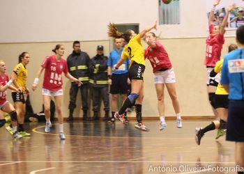 Colégio de Gaia/Toyota - DHC Sokol Poruba - 07.02.15, 1ª mão 1/8 final Challenge Cup Feminina - foto: António Oliveira