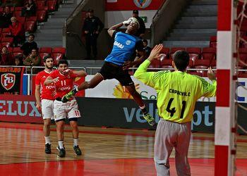SL Benfica - ADA Maia-Ismai - Campeonato Andebol 1 - foto: Ricardo Rosado