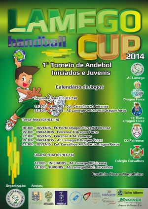 Torneio Lamego Handball CUP 2014