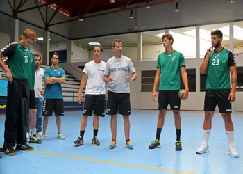 Treino Seleção Nacional Juniores B - Guimarães - Julho 2016