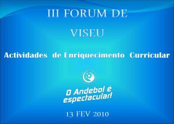 III Fórum de Viseu