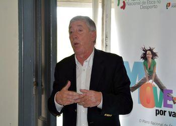 Ulisses Pereira na apresentação dos resultados do Cartão Branco do PNED