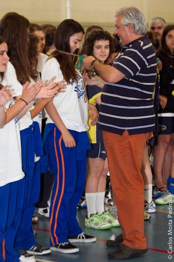Fase Final Campeonato Nacional Iniciados Femininos 2ª Divisão - entrega de prémios