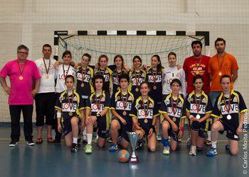 Alavarium - Campeão Nacional Iniciados Femininos 2ª Divisão 2010/2011